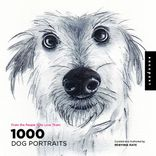 1,000 dog portraits book cover